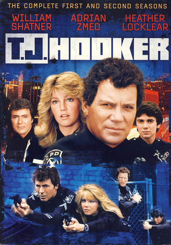 T.J. Hooker - The Complete First and Second Seasons (Boxset) DVD Movie