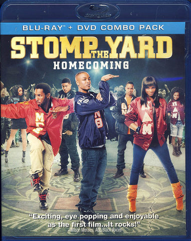 Stomp the Yard - Homecoming (Blu-ray + DVD Combo) DVD Movie