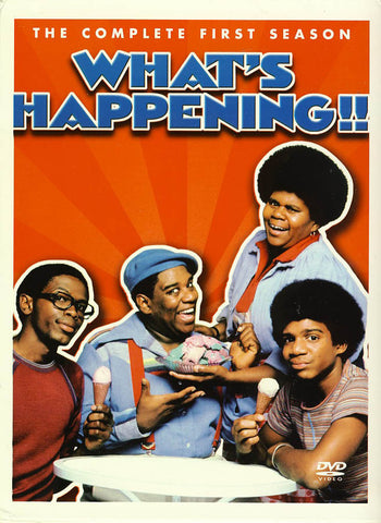 What s Happening!! The Complete first Season (1) (Boxset) DVD Movie
