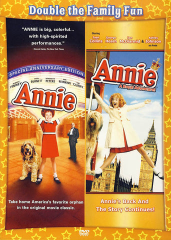 Annie - Special Anniversary Edition / Royal Adventure DVD Movie