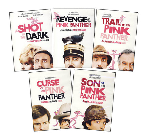 The Pink Panther - Blake Edwards Collection (Bundle Pack) (Boxset) DVD Movie