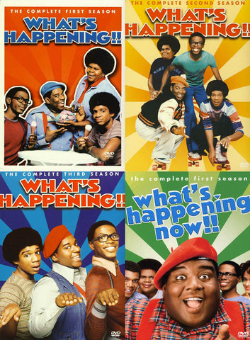 What s Happening!! - The Complete season 1, 2, 3 Plus What s Happening Now!! - Season 1 (4 Pack) DVD Movie
