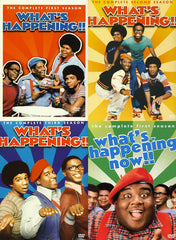 What s Happening!! - The Complete season 1, 2, 3 Plus What s Happening Now!! - Season 1 (4 Pack)