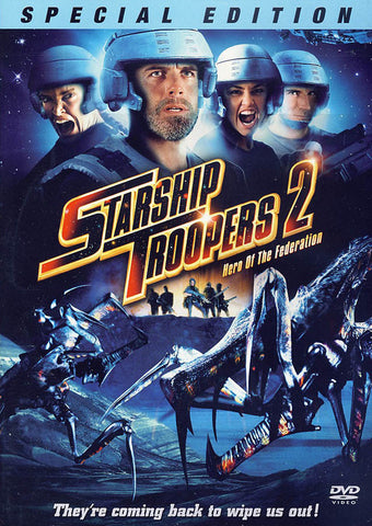Starship Troopers 2: Hero of the Federation (Special Edition DVD Movie