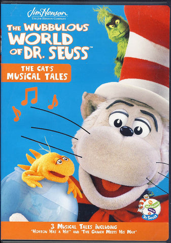 The Wubbulous World of Dr. Seuss - The Cat's Musical Tales DVD Movie