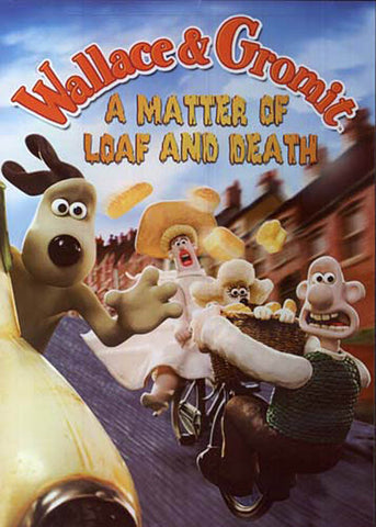 Wallace and Gromit - A Matter of Loaf and Death (Maple) DVD Movie