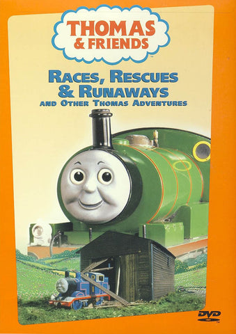 Thomas and Friends - Races, Rescues And Runaways DVD Movie