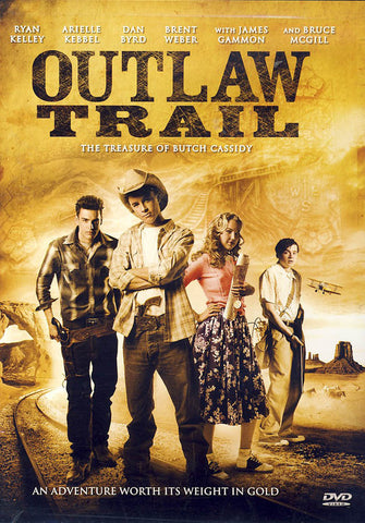 Outlaw Trail - The Treasure of Butch Cassidy DVD Movie