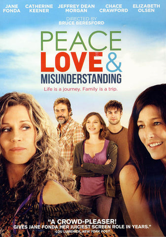 Peace Love & Misunderstanding DVD Movie