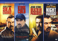 Jesse Stone Collection (Death in Paradise/Night Passage/Sea Change/Stone Cold)