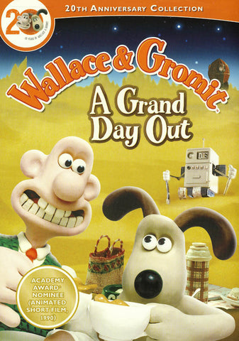 Wallace and Gromit - A Grand Day Out (maple) DVD Movie