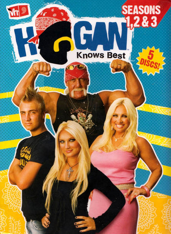 Hogan Knows Best: Seasons 1, 2 & 3 DVD Movie