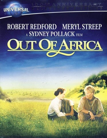 Out of Africa (Blu-ray + DVD + Digital Copy) (Blu-ray) (booklet) BLU-RAY Movie