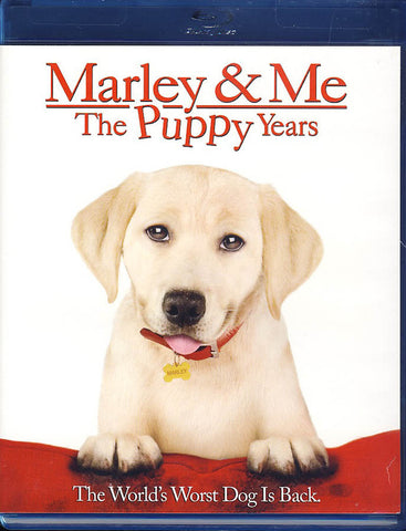 Marley & Me: The Puppy Years (Blu-ray) BLU-RAY Movie