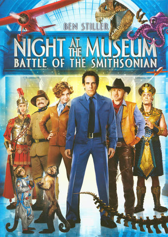 Night at the Museum: Battle of the Smithsonian DVD Movie