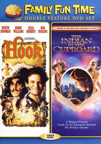 Hook / Indian in the Cupboard (Double Feature) DVD Movie