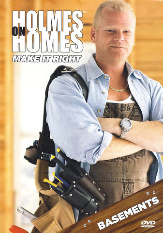 Holmes on Homes: Basements DVD Movie