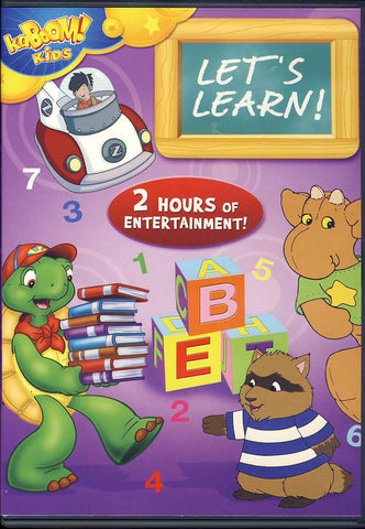 kaBOOM! Kids: Let s Learn! DVD Movie
