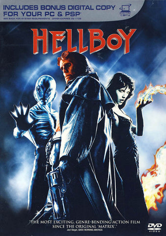 Hellboy (+ Digital copy) DVD Movie