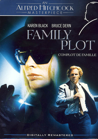 Family Plot - An Alfred Hitchcock Masterpiece (Blue) (Bilingual) DVD Movie