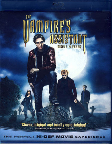 The Vampire s Assistant: Cirque Du Freak (Blu-ray) BLU-RAY Movie