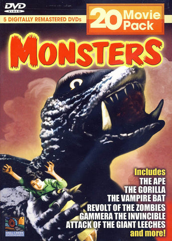 Monsters 20 Movie Pack (Boxset) (Limit 1 copy) DVD Movie