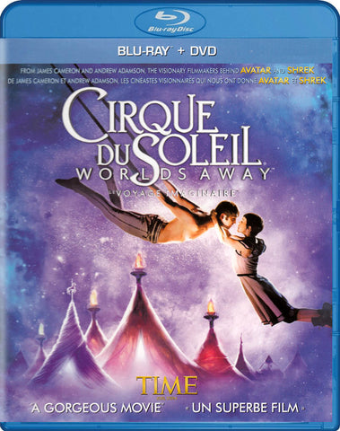 Cirque Du Soleil - World s Away (Blu-ray / DVD) (Blu-ray) (Bilingual) BLU-RAY Movie