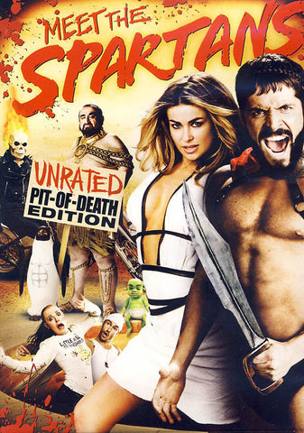 Meet the Spartans (Unrated  Pit of Death  Edition) DVD Movie