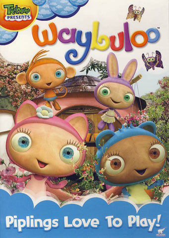 Waybuloo - Piplings Love to Play DVD Movie