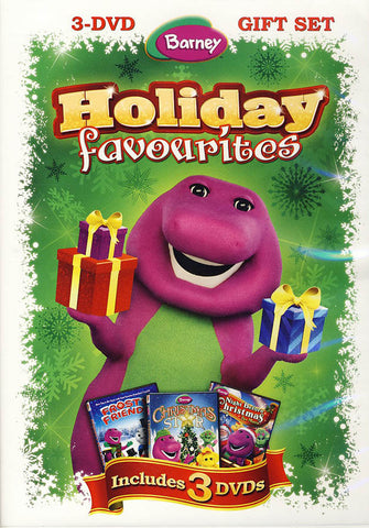 Barney Holiday Favorites (3-DVD Gift Sets)(Boxset) DVD Movie