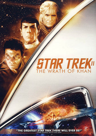 Star Trek II:The Wrath of Khan DVD Movie