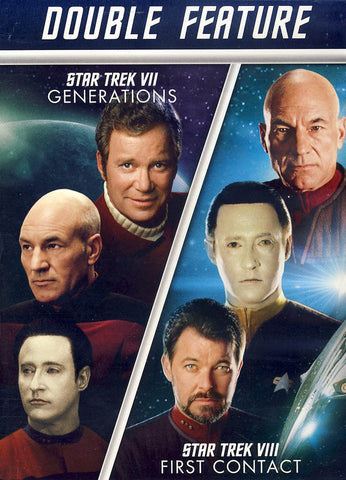 Star Trek VII: Generations / Star Trek VIII: First Contact DVD Movie