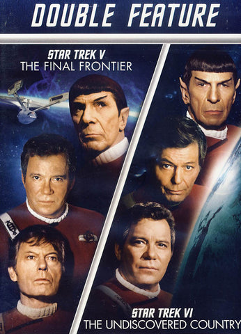 Star Trek V: The Final Frontier / Star Trek VI: The Undiscovered Country DVD Movie