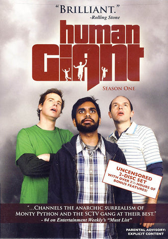 Human Giant: Season 1 DVD Movie