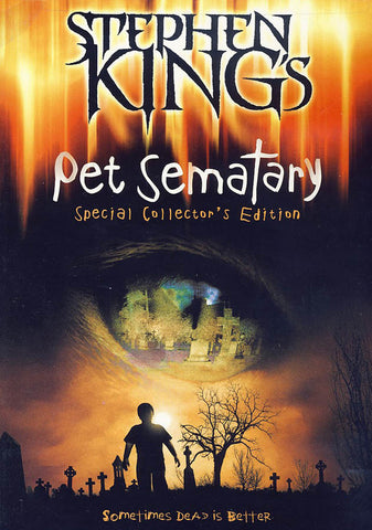Pet Sematary (Special Collector's Edition) DVD Movie