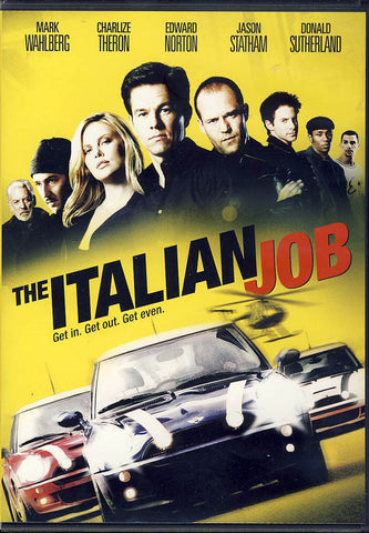 The Italian Job (Widescreen) DVD Movie