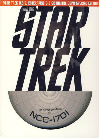 Star Trek (2 Disc Digital Copy Special Edition w/ Limited Edition U.S.S. Enterprise Packaging)(Boxse DVD Movie