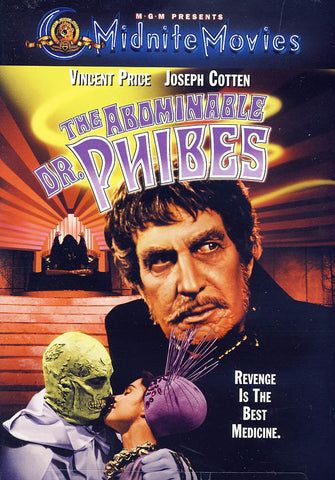 The Abominable Dr. Phibes (Midnite Movies) (MGM) DVD Movie
