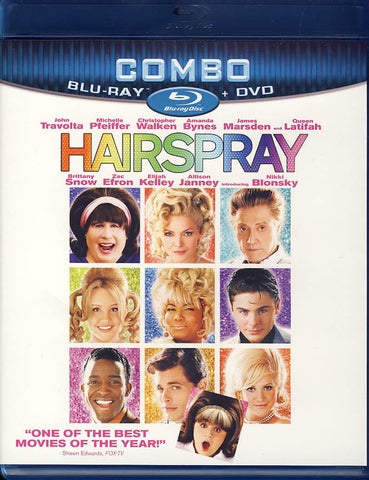 Hairspray (Blu-ray/DVD Combo) DVD Movie