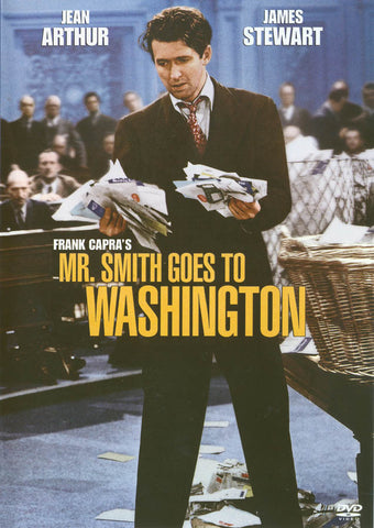 Mr. Smith Goes to Washington (B&W / Blue Cover) DVD Movie