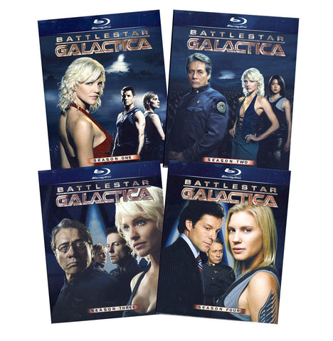 Battlestar Galactica Complete Series(Blu-ray) (Boxset) BLU-RAY Movie