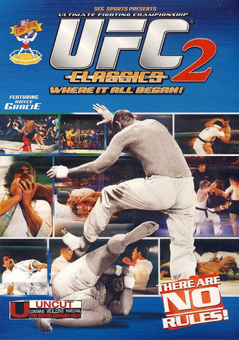 UFC Classics, Volume 2: Ultimate Fighting Champ (2007) DVD Movie