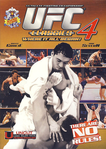 UFC Classics, Volume 4: Revenge of the Warrior(maple) DVD Movie