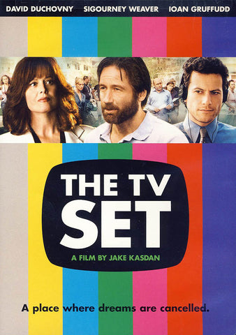 The TV Set (rainbow cover) DVD Movie