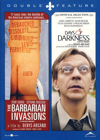 The Barbarian Invasions/Days of Darkness (Double Feature) (Bilingual) DVD Movie