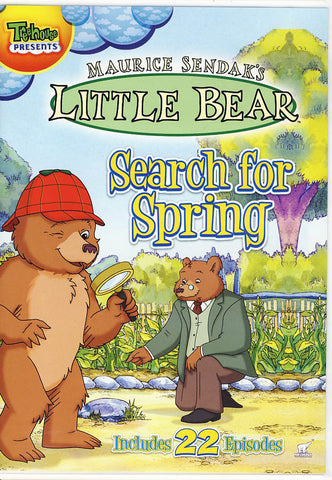Little Bear Search for Spring DVD Movie