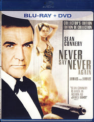 Never Say Never Again (Blu-ray+DVD)(Bilingual)(Blu-ray)