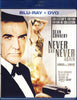 Never Say Never Again (Blu-ray+DVD)(Bilingual)(Blu-ray) BLU-RAY Movie
