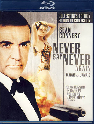 Never Say Never Again (Blu-ray)(Bilingual) BLU-RAY Movie