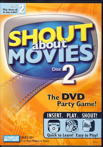 Hasbro Shout About Movies Disc 2 DVD Movie
